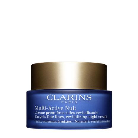 멀티 액티브 나이트 크림 – 집중 작용 & 활기 충전 - 중복합성 피부