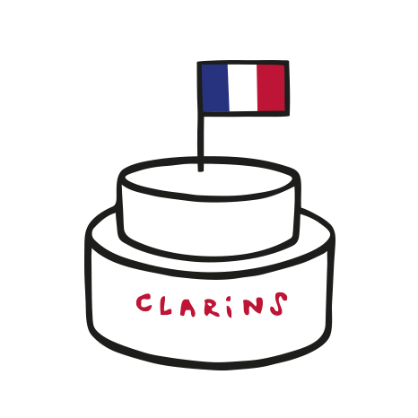 Clarins We Care - 프랑스 제조