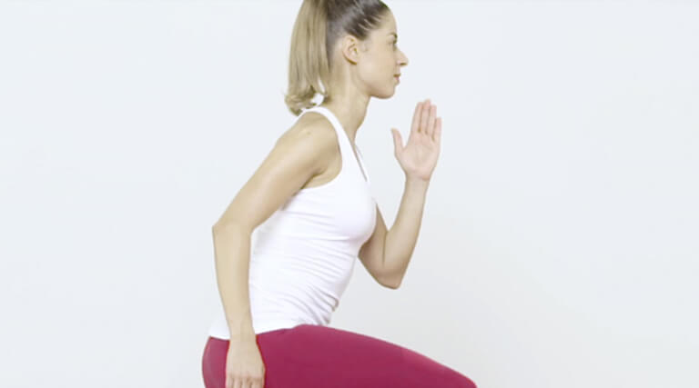 Lunges with jumps
